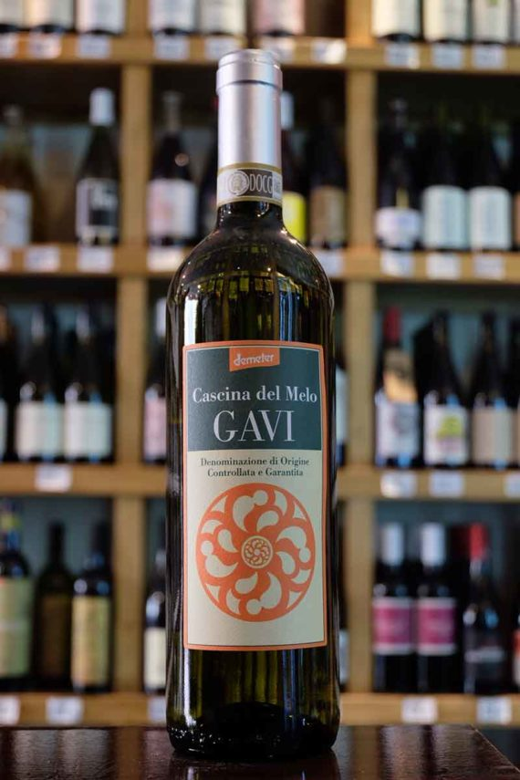 Gavi_Italian_White_Wine_Cascina_del_Melo_Edinburgh_Cork&Cask